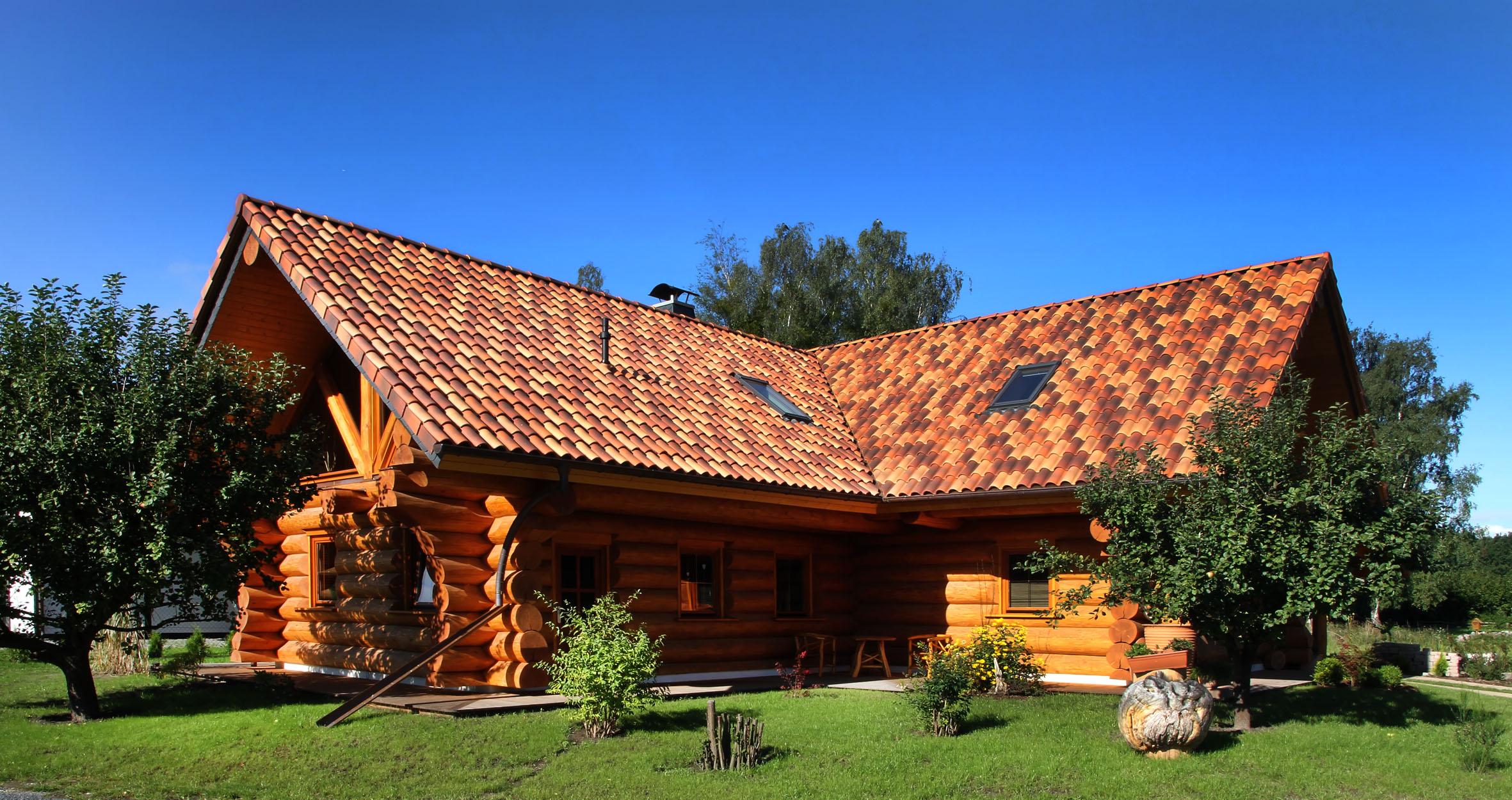 Holzhaus / Blockhaus aus Thüringen