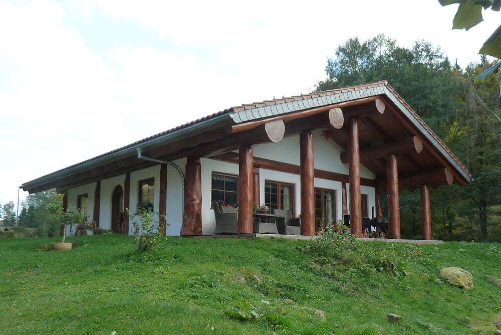 Holzhaus Aussenansicht